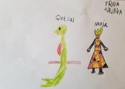 Bidrag levert av Frida Adriana (9 år)